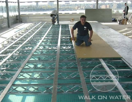 Walk On Water Llc Over Pool Event Flooring Over Water